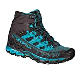 La Sportiva Ultra Raptor II Mid Woman GTX Womens Walking Boots 7 B(M) US Women Carbon Topaz