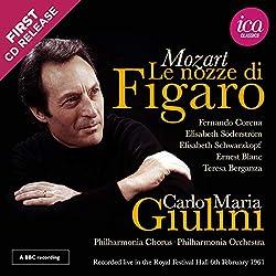 Mozart : Les Noces de Figaro/Royal Festival Hall, 1961 (Richard Itter Collection)