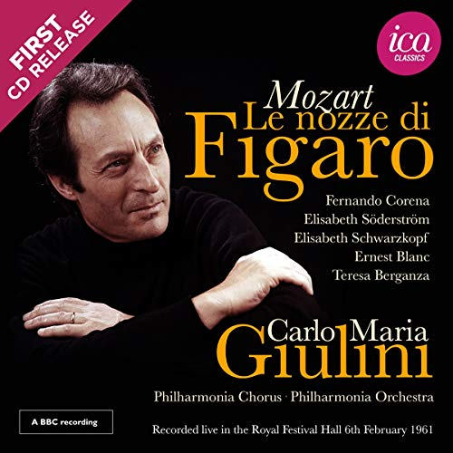 puissant Mozart: Les Noces de Figaro / Royal Festival Hall, 1961 (Collection Richard Itter)