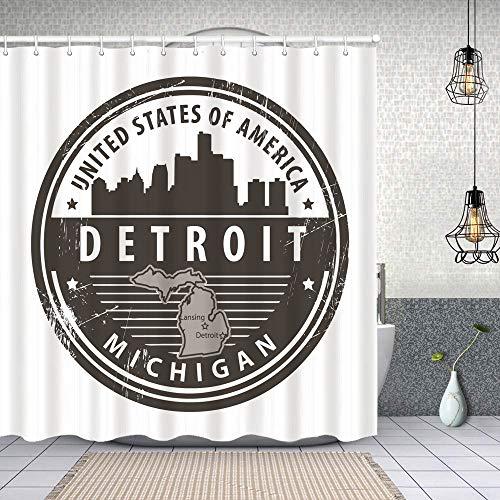 Duschvorhang, New Wilmington (newwilmington) auf Pinterest Polyester Wasserabweisend Shower Curtain Anti-Schimmel Duschgardine, für Badewanne und Bathroom 152 cmx183 cm