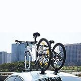 LJ-BICYCLE RACK Porte-vélos de Voiture Ventouse Galerie de Toit Cadre de vélo de...