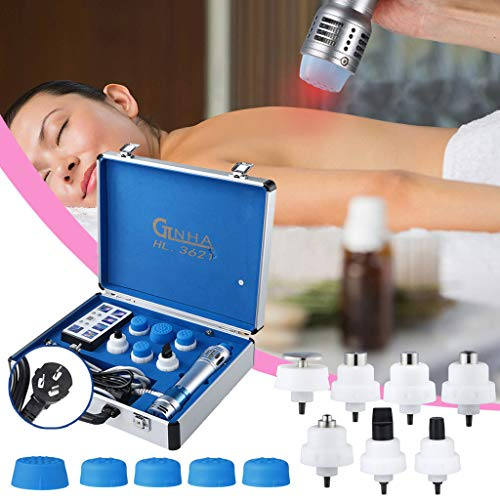 110V-220V Percussion Body Muscle, Laser Pain Relief Therapy Device,Effective Shock Wave Shockwave Therapy Machine Function Pain Removal for Erectile Dysfunction&ED Treatment and Relieve Pain