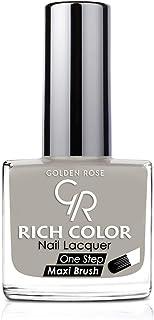 طلاء اظافر من جولدن روز , اللون الرصاصي رقم 113