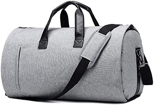 Tophacker YOGA MAT CARRIER Sport Gym Bag Bolsa de deporte Bolsa de equipaje Bagyoga Bolsa de viaje impermeable, negro, gris (Color: gris)