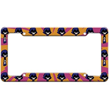 Graphics and More Teen Titans Go Raven License Plate Tag Frame