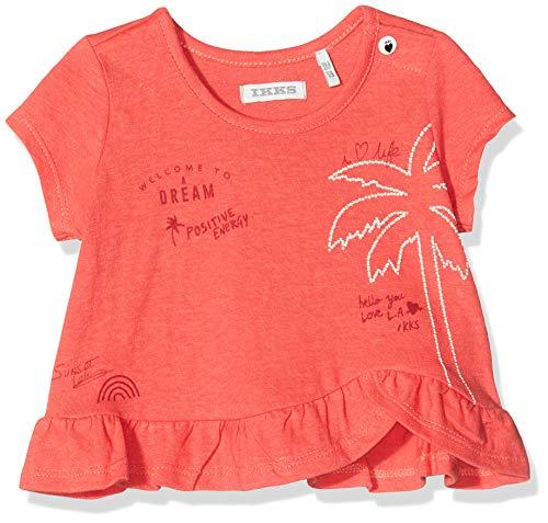 IKKS Junior tee-Shirt Palmier Camiseta, Naranja (Orange Foncé 77), 18-24 Meses (Talla...