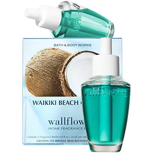 Bath and Body Works New Look! Waikiki Beach Coconut Wallflowers
