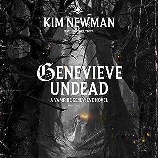 Genevieve Undead audiobook cover art