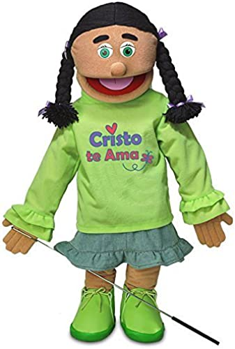 Venta en línea precio bajo descuento Cristo Te Ama     25 Full Body Girl Puppet by Silly Puppets  online al mejor precio