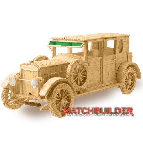Matchbuilder Hispano Suiza Klassiker Auto Matchstick Bausatz