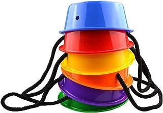 Toyvian 1 Set Stepping Denge Kovalar Stepping Denge Taşlar Açık Duyusal Oyuncaklar Denge Eğitim Oyuncaklar Çocuklar Denge ...