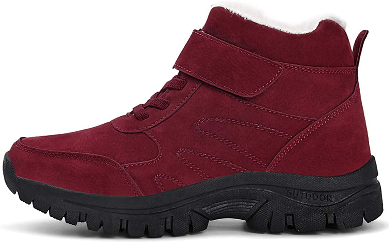 Damen Sportlich Turnschuhe, 2018 Winter Winter Winter Baumwolle Schuhe Outdoor Sports Schuhe Plus Baumwolle Vaters Schuhe rutschfeste warme alte Schuhe (Farbe   EIN, Größe   44)  6da5da