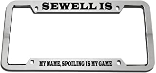 Best sewell license plate frame Reviews