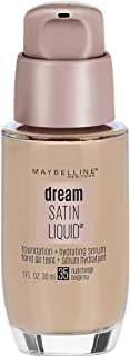 Maybelline New York Dream Satin Liquid Foundation (Dream Liquid Mousse Foundation), Nude Beige, 1 fl. oz.