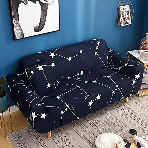 PPOS Funda de sofá para Sala de Estar, sofá elástico, Funda Universal para sofá elástico, Funda mágica para sofá A8, sofá de Dos plazas 145-185cm-1pc