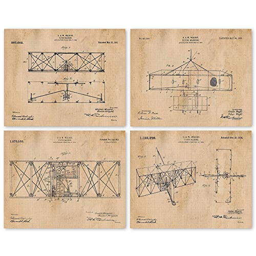 Wright Brothers Flying Machine Posters
