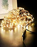 Luces Navidad USB 24M 240 LED, Litogo Regulable...