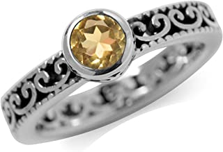 Best citrine ring sterling silver Reviews