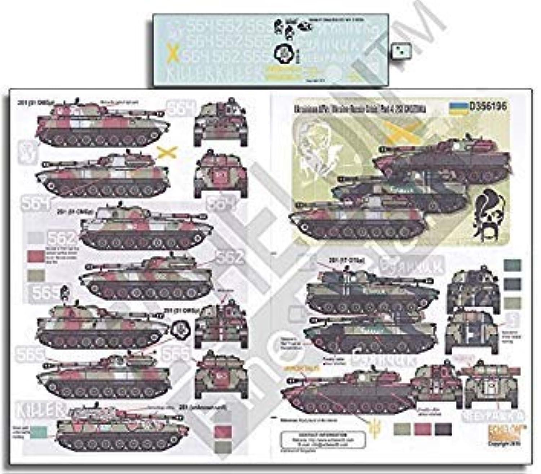 Echelon Fine Decal 1 35 Ukrainian AFV in Crisis Part 4 2S1 Gvozdika  D356196