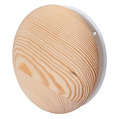 Europlast Ø 100mm Holz Tellerventil Abluft- und Zuluft Deckenventil Ventil Lüftungsgitter Sauna kd100