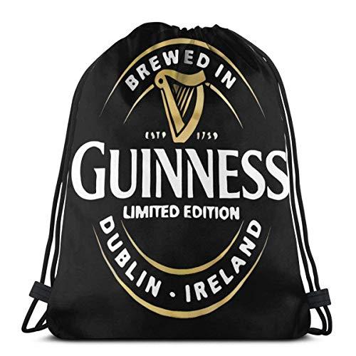 BFGTH Kordeltasche Guinness Merchandise Drawstring Bag Shoulder Bags Sport Storage Bag For Man Women