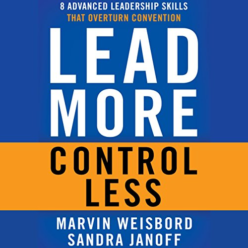 Lead More, Control Less audiobook cover art