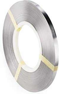 Pure Nickel Strip- 99.6% Nickel Strips 0.15x6mm 1kg(2.2lbs, 403ft) for 18650 Soldering Tab for High Capacity Lithium, Li-Po Battery, NiMh and NiCd Battery Pack and Spot Welding