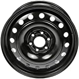 Dorman - OE Solutions 939-185 Black Wheel with Painted Finish (17 x 6.5 inches /6 x 115 mm, 51 mm Offset)