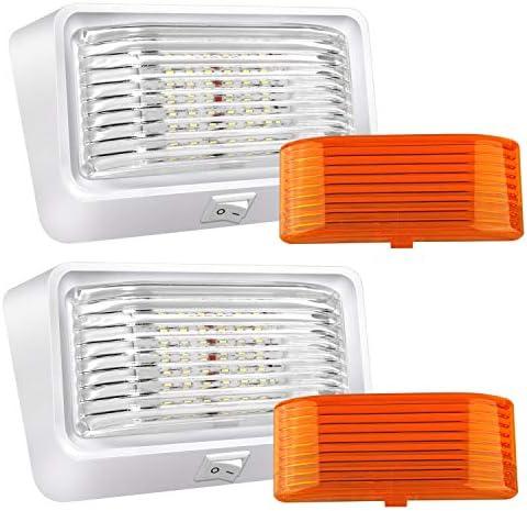 BlueFire Super Bright LED RV Porch Light RV Exterior Lights Porch Utility Light 12V Replacment product image