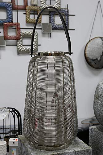 Casablanca Windlicht/Laterne Cage Edelstahl D. 26cm (BxHxT) x 44 x cm