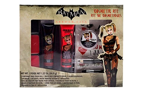 BATMAN Arkham City Harley Quinn Makeup Cosmetic Kit