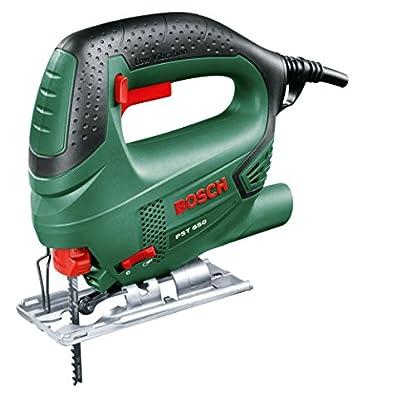 Foto di Bosch Home and Garden 06033A0700 PST 650 Compact Easy Seghetto Alternativo, 500 W, Nero/Verde65 mm