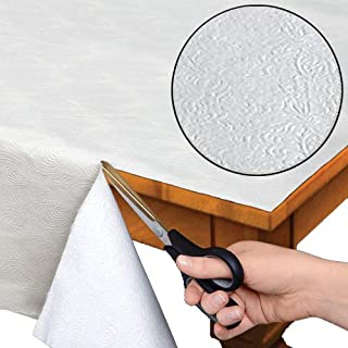 "Quilted Heavy Duty Table Pad Protector With Flannel Backing - Cut To Fit - 52"" x 120"""