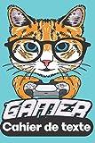 Cahier de texte: théme jeux vidéo pour garçons et filles ,Pages du lundi au samedi pour noter (leçons et devoirs).