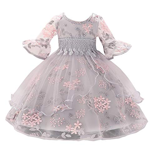 10yrs Bebés y niñas bastante caliente Rosa Manga Larga Bolero Boda Flowergirl 6 Mths