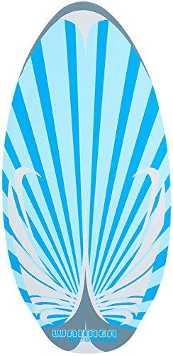 Waimea Unisex 52Wd Flatland Holz Skimboard, blau/grau, eine Größe
