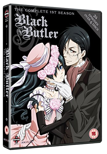 Black Butler - The Complete 1st Season [4 DVDs] [UK Import]