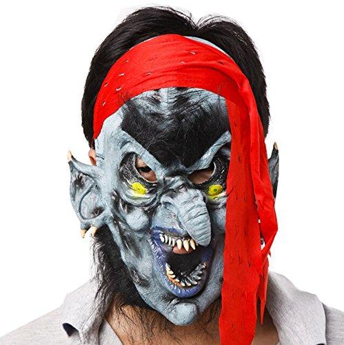 Blancho Hideous Terreur Masque fête d'halloween Masque Mascarade Masque Cosplay Accessoire