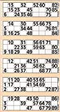 CARTALOTO- 8 Heftchen à 750 Jumbo Bingo - Creme, JOJBB1-05, Mehrfarbig -