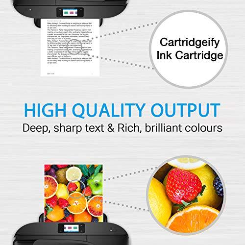 Cartridgeify 21XL 22XL Compatible con HP 21 22 XL Cartuchos de Tinta, para HP PSC 1410, Officejet 4315, Deskjet 3940 D1530 D2360 D2460 F380 F2180 F2224 F4180