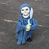 Decoración de Halloween Festival de Fantasmas Trucos de decoración Accesorios Control de Voz Barra Fantasma KTV Casa embrujada Paisaje Miedo Swing Fantasma Azul