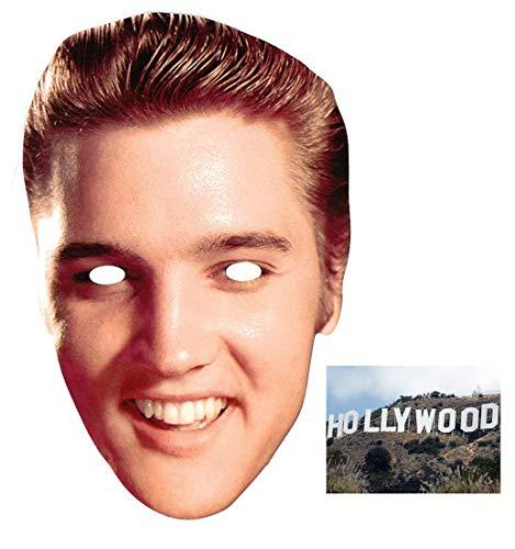BundleZ-4-FanZ Fan Packs Elvis Presley Karte / Pappe Partei Maske - Enthält 6X4 (15X10Cm) starfoto