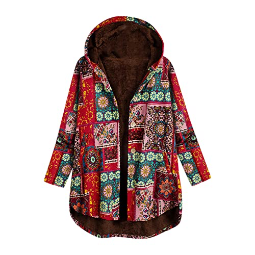 Chaqueta de forro polar para mujer con capucha, cálida, abrigo corto, informal, con cremallera, chaqueta de invierno, cómoda y elegante