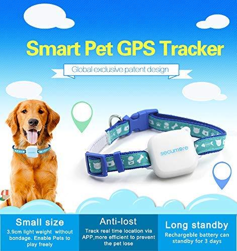 Barry Century Smart Pet GPS-Tracker, für Hunde und Katzen