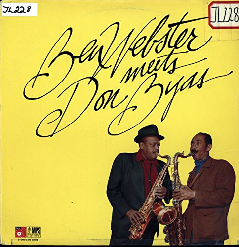 Ben Webster Meets Don Byas - Ben Webster Meets Don Byas - MPS Records - MB 20658 - United States - Sticker On Cover - Very Good Plus (VG+)/Near Mint (NM or M-) - LP, Album