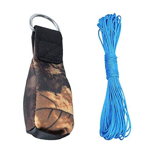 T TOOYFUL Wurfbeutel Wurfsack mit Klettern geflochten Seil Set
