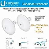 Ubiquiti NBE-M5-16 5GHz NanoBeam M5 16dBi Kit Complete Pre-Configured