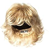 Raquel Welch Breeze, Short Textured Layers With A Feathered Bob Style Hair Wig For Women, R23S Glazed Vanilla by Hairuwear