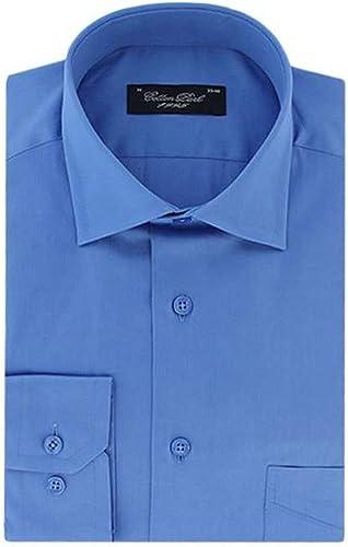 Cotton Park - Chemise Bleu Moyen - Homme