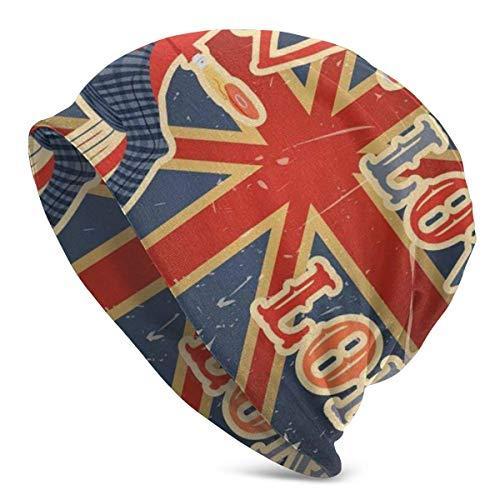 Gorro - Amo la Cita de Londres Hombre inglés Bebiendo té...
